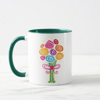 Bunch of Spring Flowers mug