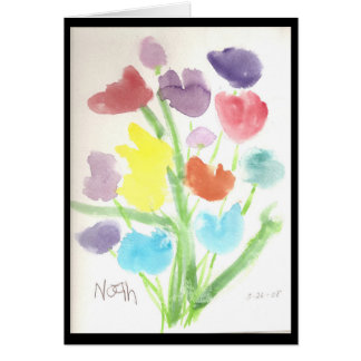 Bunch of Tulips Card
