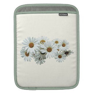 Bunch of White Daisies iPad Sleeve