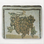 Bunch of white grapes, Roman mosaic Mouse Pad