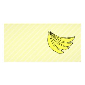Bunch of Yellow Bananas. Card
