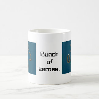 bunch_of_zeroes classic white coffee mug