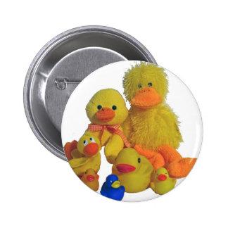 buncha ducks pinback buttons