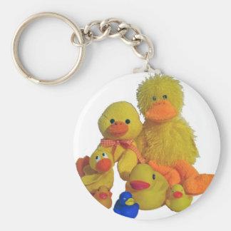 buncha ducks keychain