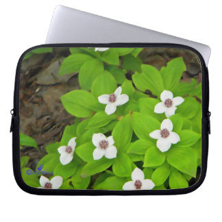 Bunchberry Laptop Computer Sleeves