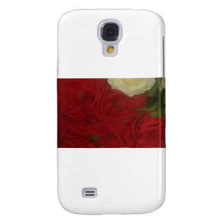 Bunched flowers galaxy s4 cover