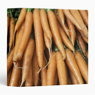 Bunches of carrots binder