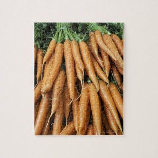Bunches of carrots, full frame jigsaw puzzle