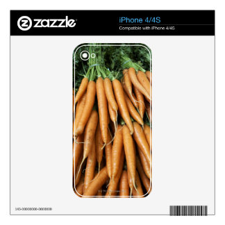 Bunches of carrots iPhone 4S skins