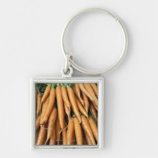 Bunches of carrots keychain