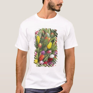 Bunches of colorful tulips T-Shirt