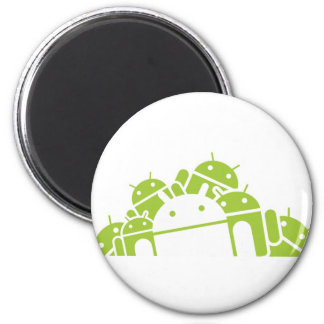 Bunches of Droids 2 Inch Round Magnet