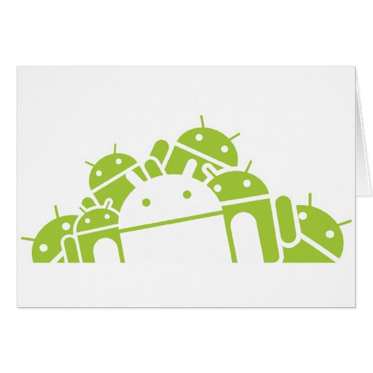 Bunches of Droids Card