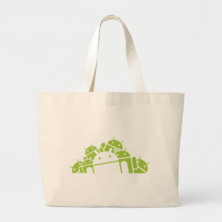 Bunches of Droids Large Tote Bag