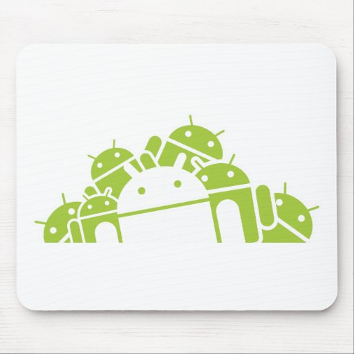 Bunches of Droids Mouse Pad
