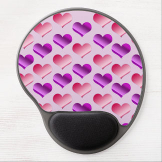 Bunches of Hearts Gel Mouse Pad