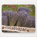 Bunches of lavender for sale, Vence, Provence, Mouse Pad