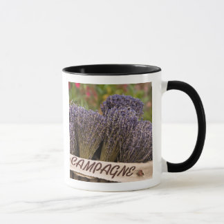 Bunches of lavender for sale, Vence, Provence, Mug