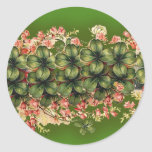 Bunches of Shamrocks Stickers