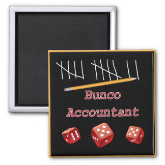 Bunco Accountant Magnet