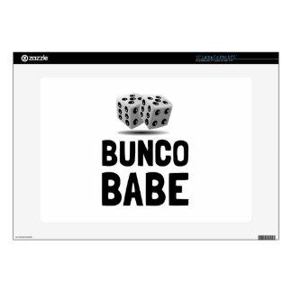 "Bunco Babe Dice 15"" Laptop Decals"