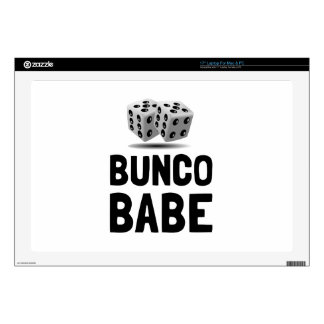 Bunco Babe Dice Decal For Laptop