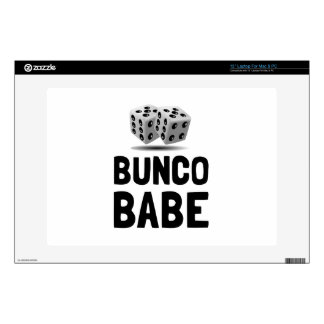 """Bunco Babe Dice Decals For 13"""" Laptops"""
