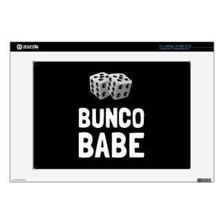 Bunco Babe Dice Decals For Laptops