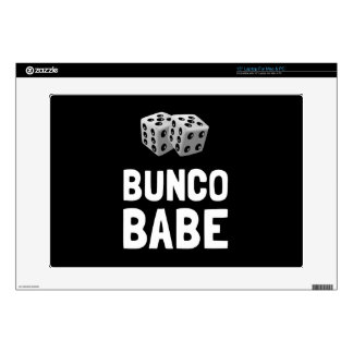 """Bunco Babe Dice Skin For 15"""" Laptop"""
