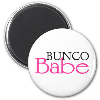 Bunco Babe Refrigerator Magnet