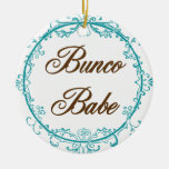 Bunco Babe ornament
