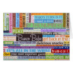 Bunco Babe Stationery Note Card
