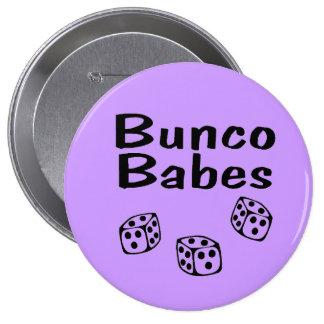 Bunco Babes 4 Inch Round Button