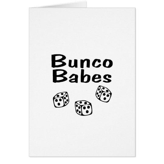 Bunco Babes Card