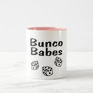 Bunco Babes Two-Tone Coffee Mug