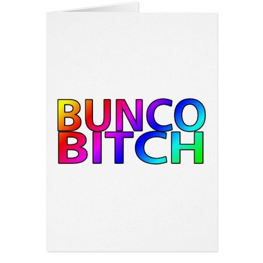 Bunco Bitch Color Card