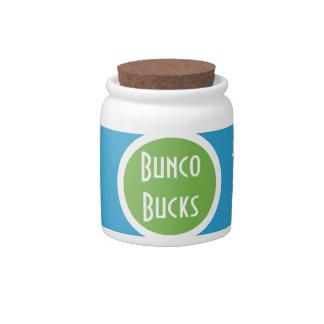 Bunco Bucks Collection Jar