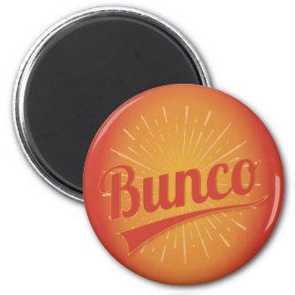 Bunco Burst 2 Inch Round Magnet