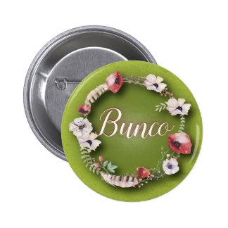 Bunco Button - Boho or Bohemian Design