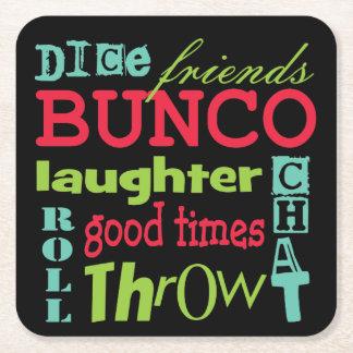 Bunco Coasters - Bunco Subway Art