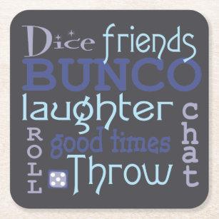 Bunco Invitation Template