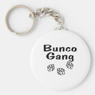 Bunco Gang Basic Round Button Keychain