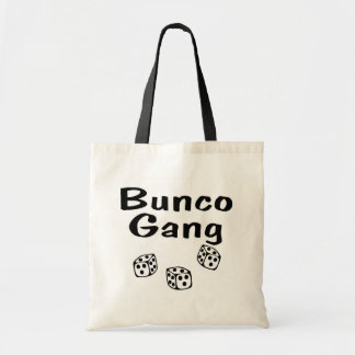 Bunco Gang Budget Tote Bag