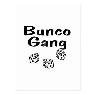 Bunco Gang Postcard