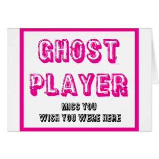 bunco ghost player card