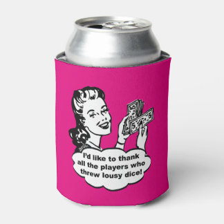 Bunco Gift Prize Can Cooler