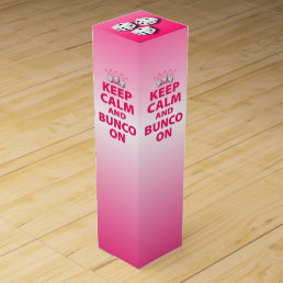 Bunco Gift Wine Box