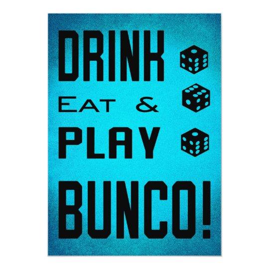 Bunco Girls Night Out Bunco Dice Invitation Zazzle Com