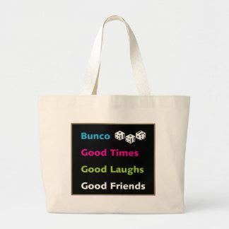bunco good friends #2 tote bags