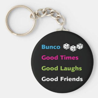 bunco good friends #2 keychain